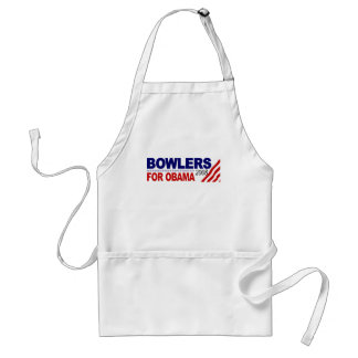Bowlers For Obama Standard Apron