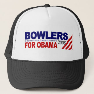 Bowlers For Obama Trucker Hat