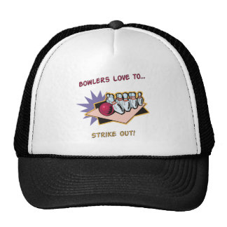 Bowlers Love To... Hats