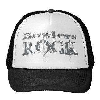 Bowlers Rock Mesh Hats