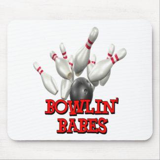 Bowlin' Babes Bowling Mouse Pad