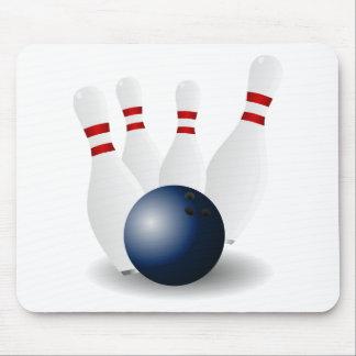 bowling-155946 bowling skittles ninepins tenpins p mouse pad
