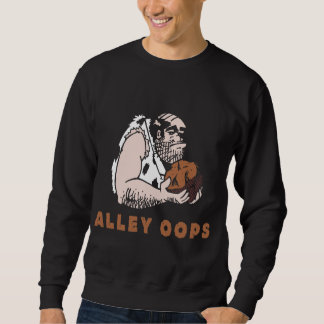 Bowling Alley oops! Caveman Sweatshirt