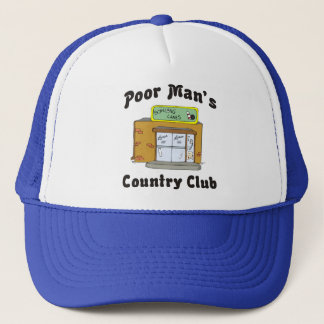 Bowling Alley Poor Man's Country Club Trucker Hat