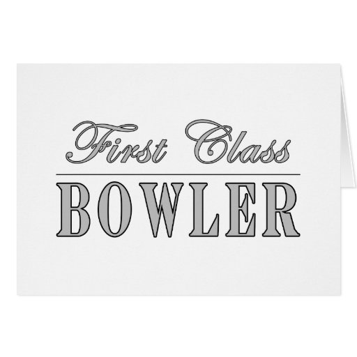 Bowling and Bowlers : First Class Bowler Cards