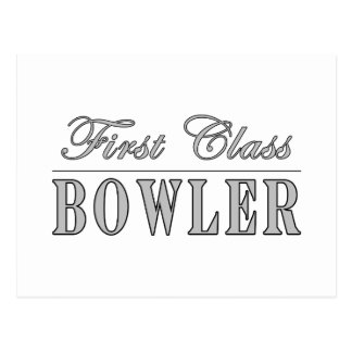 Bowling and Bowlers First Class Bowler Post Cards