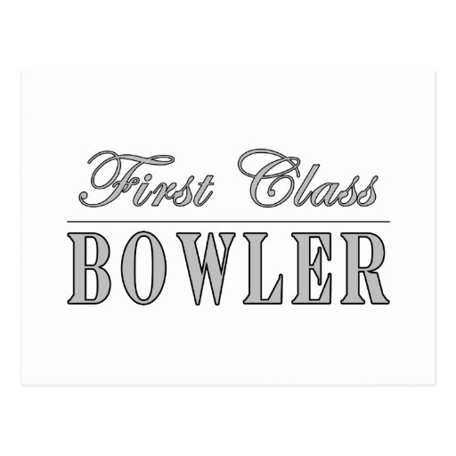 Bowling and Bowlers : First Class Bowler Post Cards