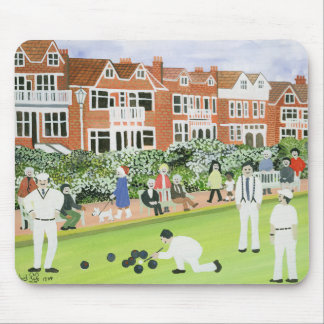 Bowling at Eastbourne Mouse Mat