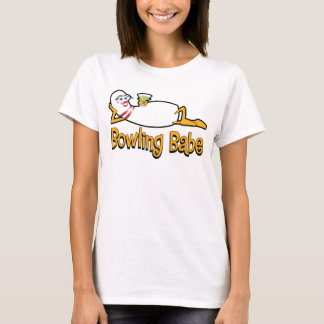 Bowling Babe T-shirt for Women Bowlers