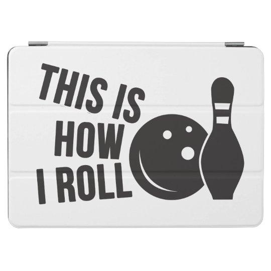 Bowling ball and pin. I love bowling. iPad Air Cover