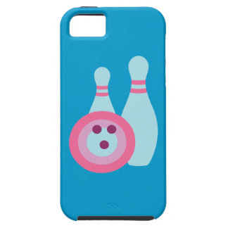Bowling Ball and Pins iPhone 5 Case