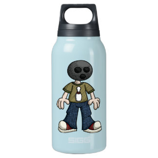 Bowling Ball Head Insulated Water Bottle