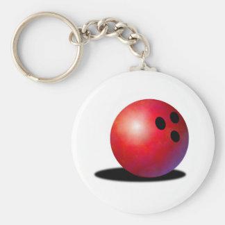 Bowling ball key ring