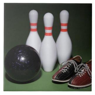 Bowling Ball Large Square Tile