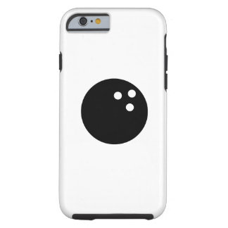 Bowling Ball Pictogram iPhone 6 Case Tough iPhone 6 Case