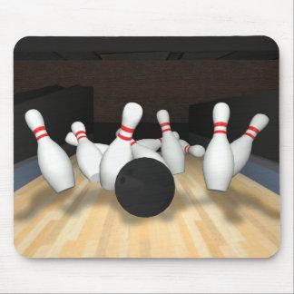 Bowling Ball & Pins: 3D Model: Mouse Mat