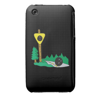 Bowling Ball Sign iPhone 3 Cover