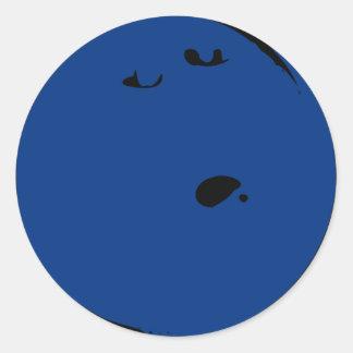 Bowling Ball Stickers Round Sticker