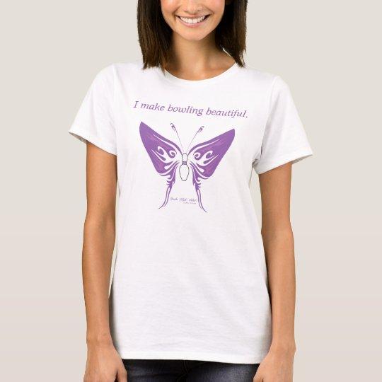 Bowling Beauty (Purple) T-Shirt