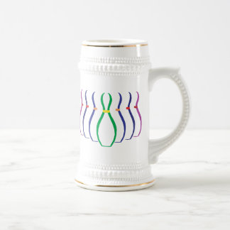 Bowling Beer Stein