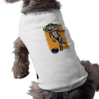 Bowling Benny Sleeveless Dog Shirt