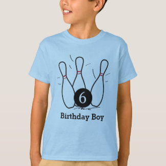 Bowling Birthday Shirt