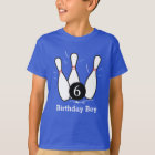 Bowling Birthday Shirt - Dark