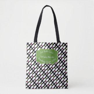 Bowling/Bowling Team Custom Tote Bag