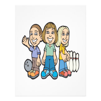 Bowling Buddies 21.5 Cm X 28 Cm Flyer
