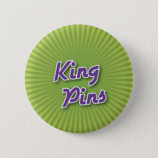 Bowling Button: King Pins