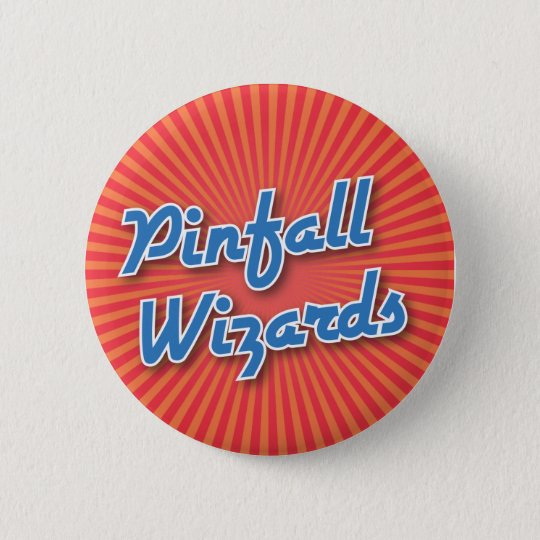Bowling Button: Pinfall Wizards 6 Cm Round Badge