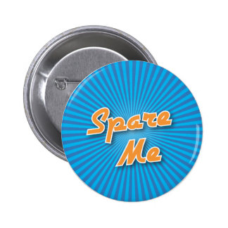 Bowling Button: Spare Me 6 Cm Round Badge