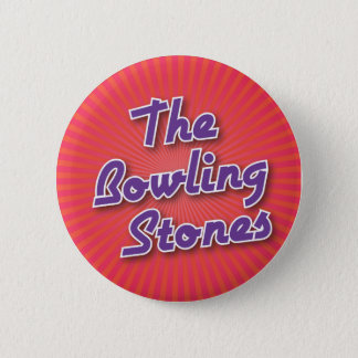 Bowling Button: The Bowling Stones 6 Cm Round Badge