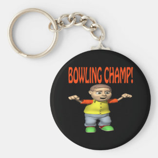 Bowling Champ Key Chain