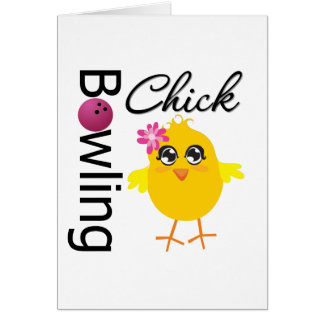 Bowling Chick Cards