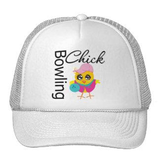 Bowling Chick Mesh Hat