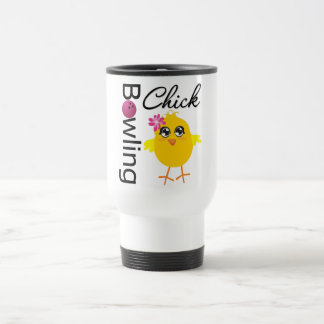Bowling Chick Mugs