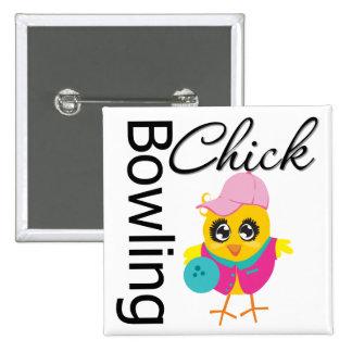 Bowling Chick Pins