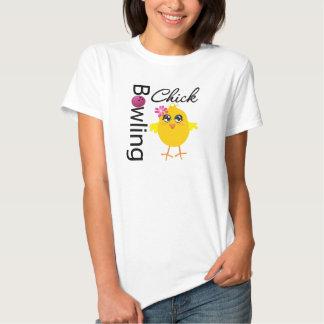Bowling Chick T-shirts