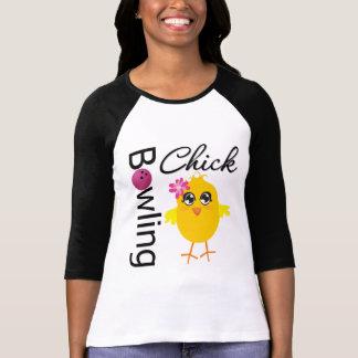 Bowling Chick Tee Shirts