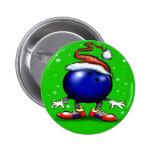 Bowling Christmas Badge