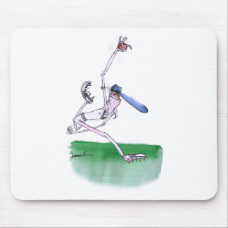BOWLING - cricket, tony fernandes Mouse Mat