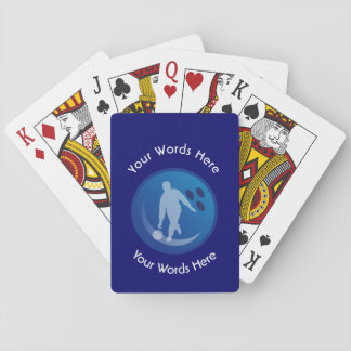 Bowling Custom Shield Playing Cards
