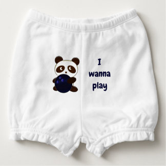 Bowling cute nappy cover