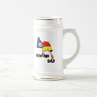 Bowling Dad Beer Steins