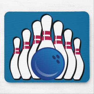 Bowling Design Mousepad
