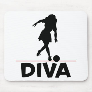 Bowling Diva Mouse Pad