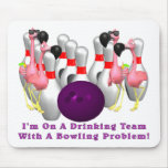 Bowling: Drinking Team Mouse Mats