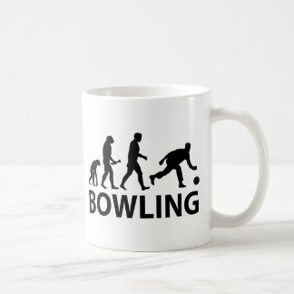 Bowling Evolution Basic White Mug