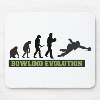 Bowling Evolution Bowler Mouse Pad